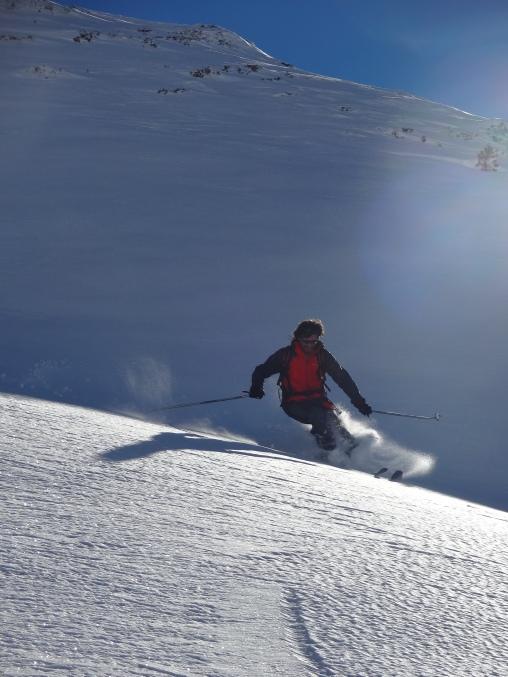 la cigalera parc natural de l'alt pirineu esqui
