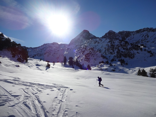tuc de marimanha esqui