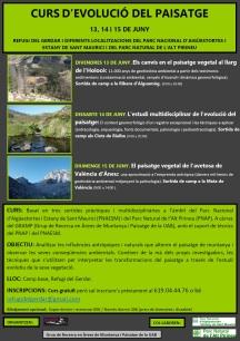 cartell curs d'evolució del paisatge juny 2014 jpg